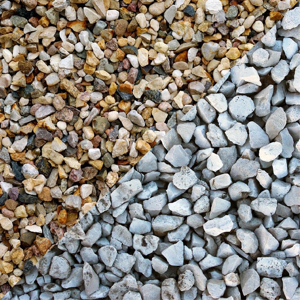 Pea Gravel vs Crushed Stone